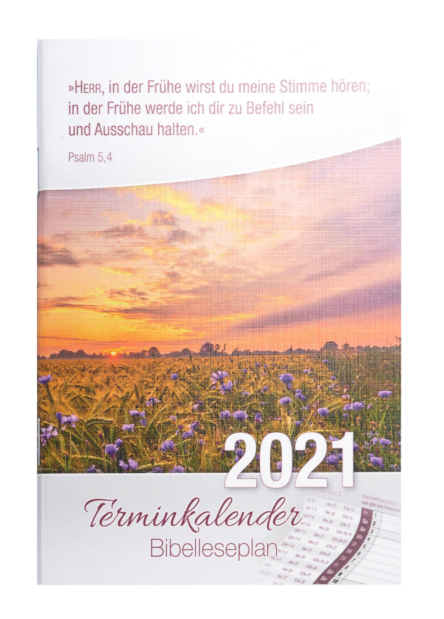 Bibelleseplan 2021